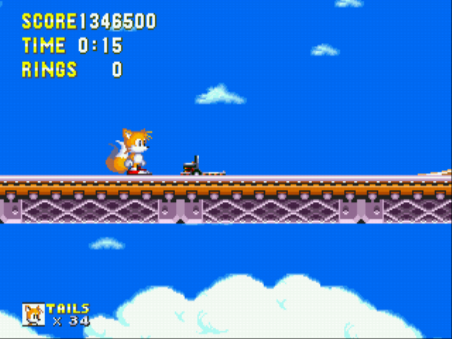 Sonic 3 Complete - Level  - Beat That!!!! - User Screenshot